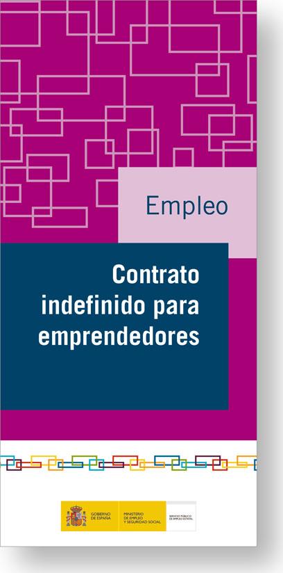 Contrato Indefinido Para Emprendedores Servicio P 250 Blico