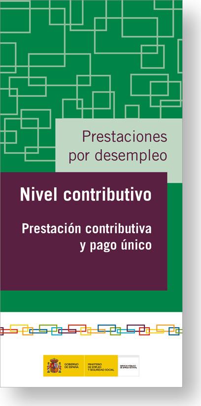 Nivel contributivo prestaci n contributiva y pago nico for Oficina de prestaciones