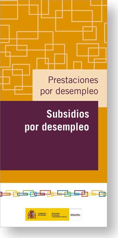Subsidios Por Desempleo Servicio Publico De Empleo Estatal