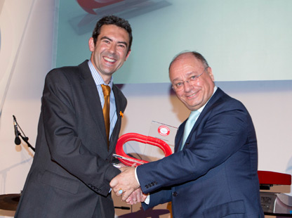 Imagen fondo Premio ORACLE Innovation In Training 2013 al SEPE por la reinserción laboral de las personas desocupadas